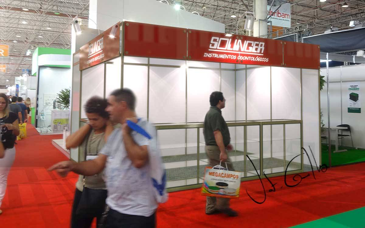 Projeto do stand Solinger na ABROSS